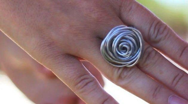 Como fazer anel de arame