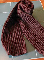 Ravelry Ribbed Scarf Pattern By C L Halvorson Mens