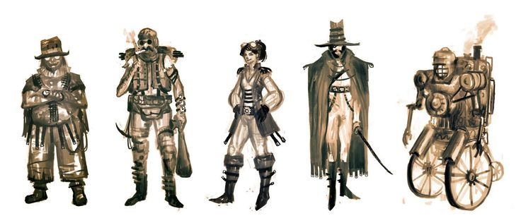 Character Design Tips And Tricks : Best steampunk images on pinterest character design