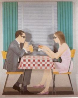 """""""Algo de comer"""" (1967), by Santiago Cárdenas. Pintor colombiano"""