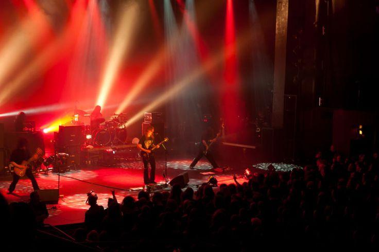 Opeth live at Cirkus Stockholm