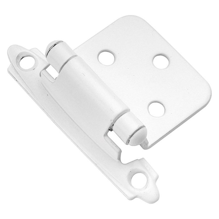 Hickory Hardware Surface Self-Closing Flush Hinge - Set of 2 - P144-