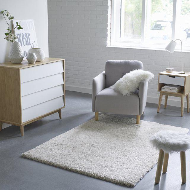 Tapete peludo, aspeto lã, 3 tamanhos, Afaw La Redoute Interieurs