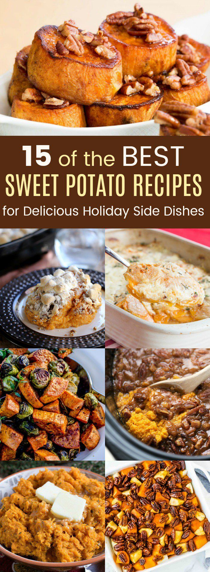 15 of the Best Sweet Potato Recipes for Delicious Holiday Side Dishes