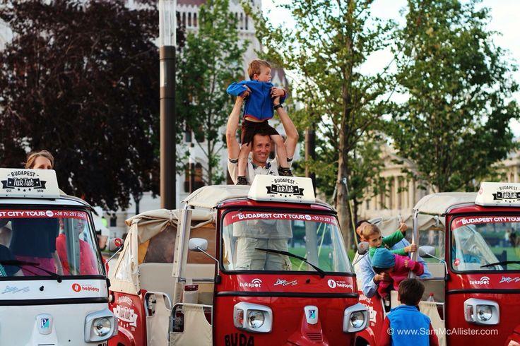 Tuktuk with children:)