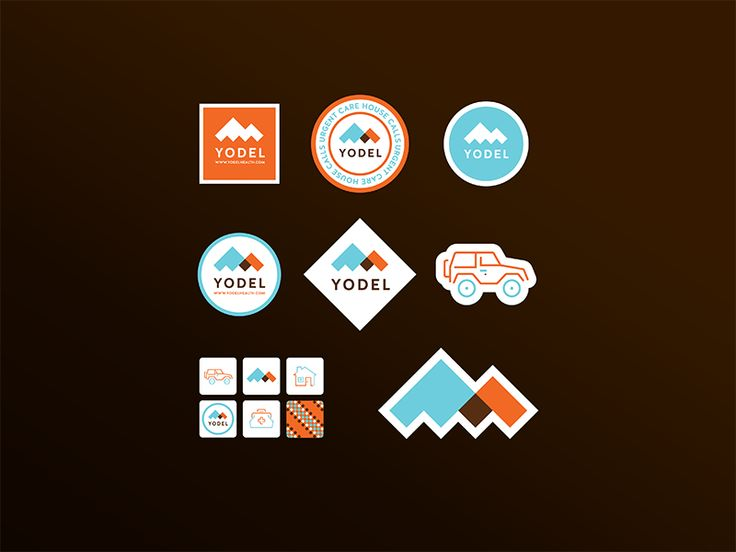 Yodel Stickers