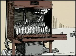 first dishwasher, 1886