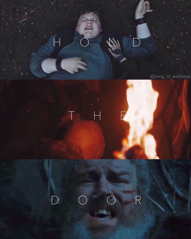 I know it's #ValarMorghulis but f_ck that! Why Hodor? Why?! #Hodor ❤️ This was so sad :(