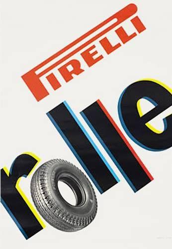 Bob Noorda - Pirelli advertising - 1960s