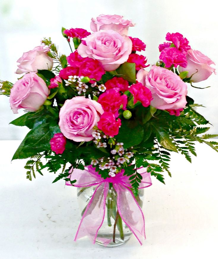 Same Day Delivery - Lovely In Pink Bouquet - Fiesta Flowers, Plants & Gifts #FiestaFlowersPlants&Gifts