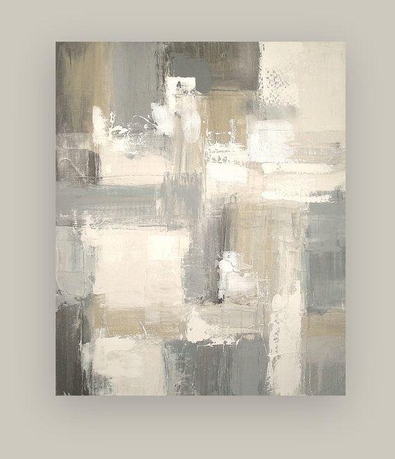 Arte abstracto acrílico pintura Original sobre por OraBirenbaumArt