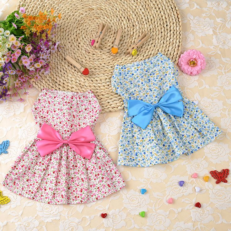 New 2016 Summer Dog Clothes Dog Dress printing Cute Princess Bow Pet Wedding Dress For Pet Clothes Supplies C26 // FREE Shipping //     Get it here ---> https://thepetscastle.com/new-2016-summer-dog-clothes-dog-dress-printing-cute-princess-bow-pet-wedding-dress-for-pet-clothes-supplies-c26/    #catoftheday #kittens #ilovemycat #lovedogs #pup