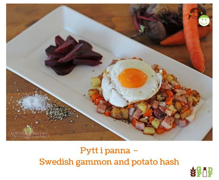 Pytt i panna – Swedish gammon and potato hash