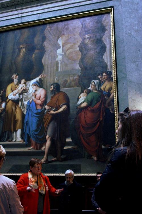 L'ottocentesca cappella del Rosario nella Chiesa di San Giovanni in Canale a Piacenza. La cappella, costruita con gusto neoclassico, conserva due imponenti tele di Gaspare Landi e Vincenzo Camuccini