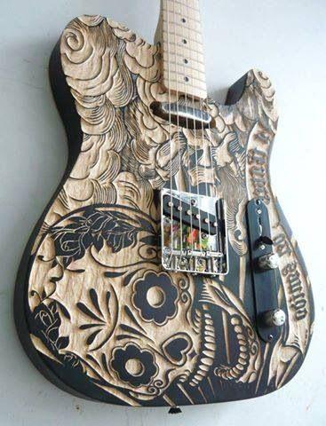 #Guitarra #Caveira >><<