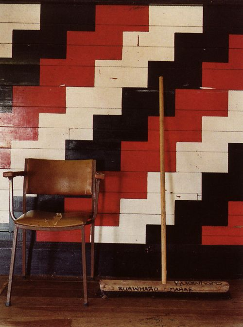 """IMAGES OF MAORI WHARENUI TAKEN FROM THE WORLD OF INTERIORS, MARCH 2009; TAKEN BY DEREK HENDERSON"""