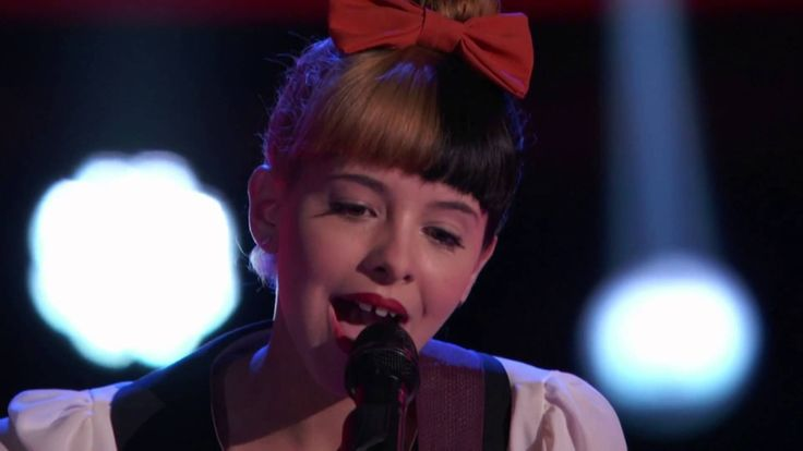 Melanie Martinez's - Toxic - The Voice Blind Auditions