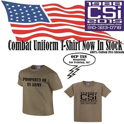 Ready for combat?! Check out our new inventory!