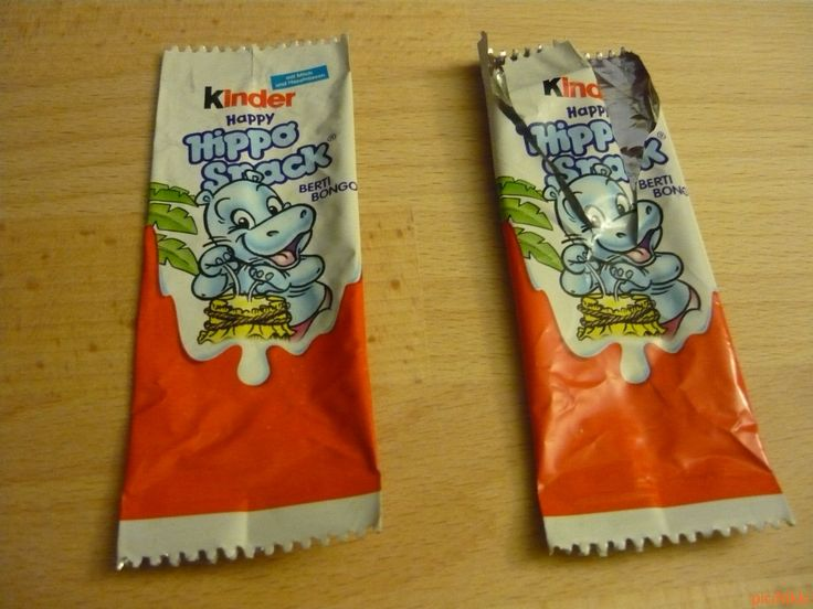 No. 190 - 191 | víziló | hippo | Kinder Happy Hippo Snack
