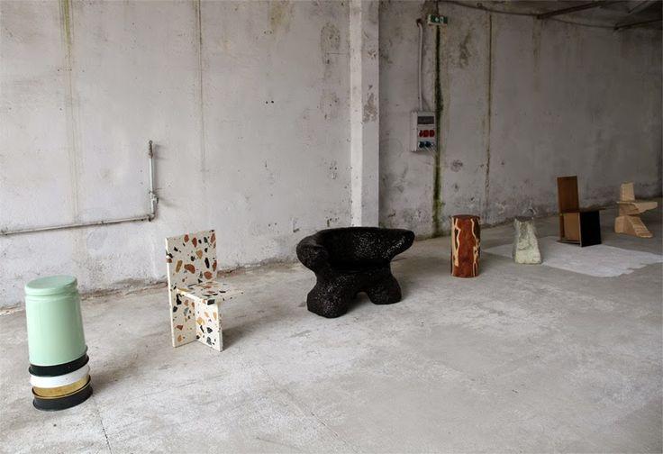 Max Lamb exhibition Milano 2015 via HEIMELIG blog