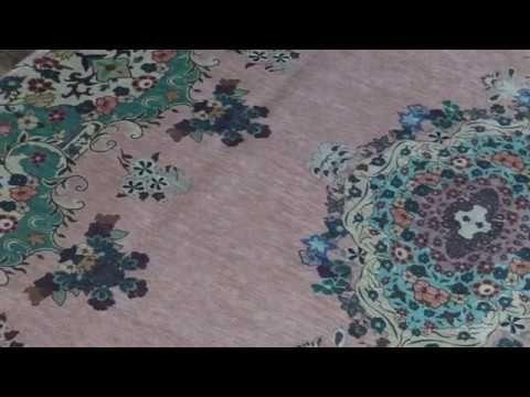 vintage look vloerkleed pastel kleuren 225cm x 155cm | Rozenkelim.nl