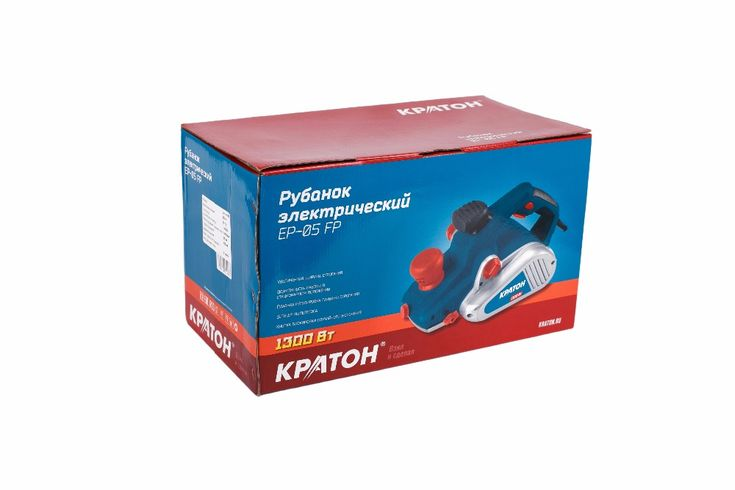 Electric planer  KRATON EP-05 FP 1300W 16000 rpm knife 110 mm cut off 0-3.5 mm#knife