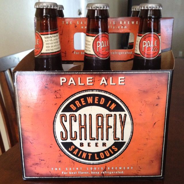 Schlafly Beer, St. Louis MO. Now I just need to start pronouncing it right!