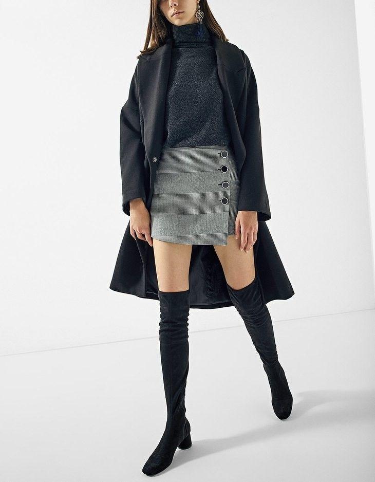 Falda pantalón de stradivarius.  #stradivarius