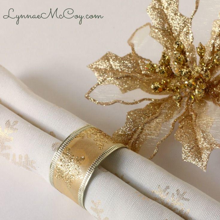 Best 25 Christmas Napkin Rings Ideas On Pinterest