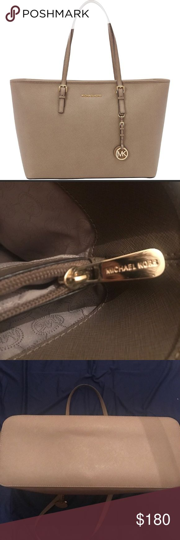 Michael Kors Jet Set Tote Gently used, good condition! Michael Kors Bags Totes