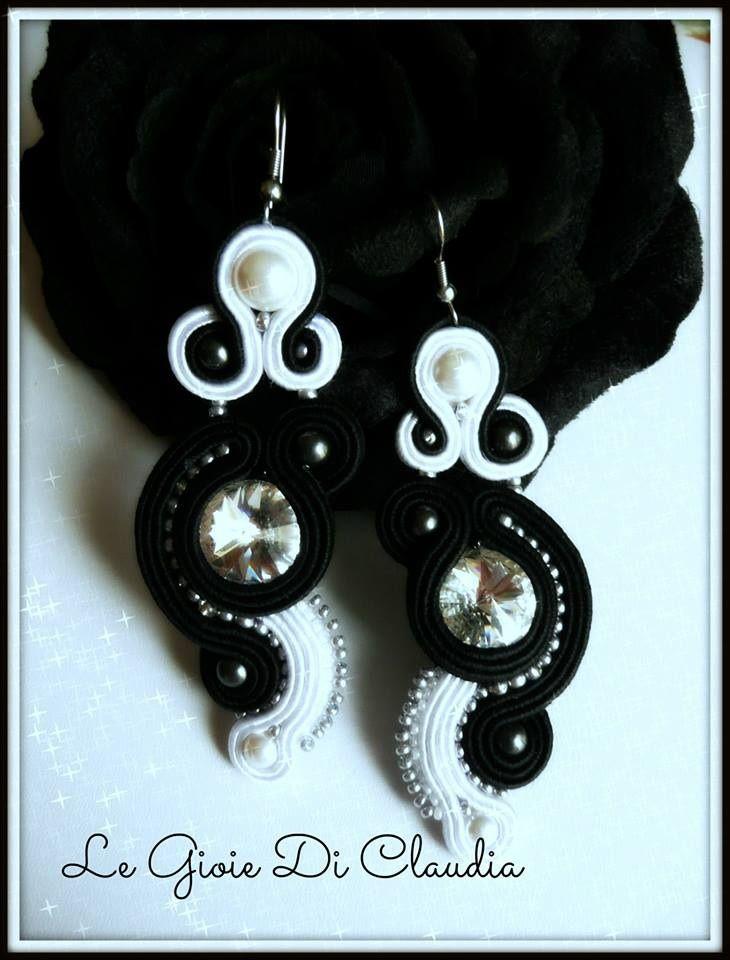 http://legioiediclaudia.blogspot.it/2013/10/orecchini-soutaches-black-and-white.html