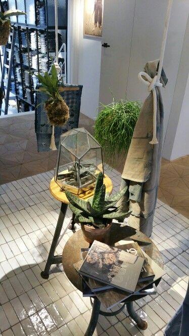 The Blauw Kitchen | Scotch-Soda | Gerard Doustraat 71 Amsterdam | Styling in Store | Retail Design | #trendeventnimeto