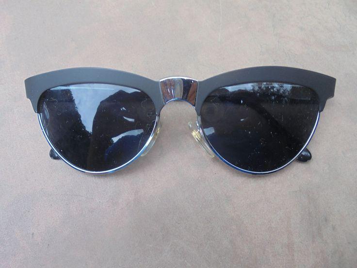 1 Sonnenbrille Black Edition Style Stil schwarz Brille Retro Vintage Nerd 7