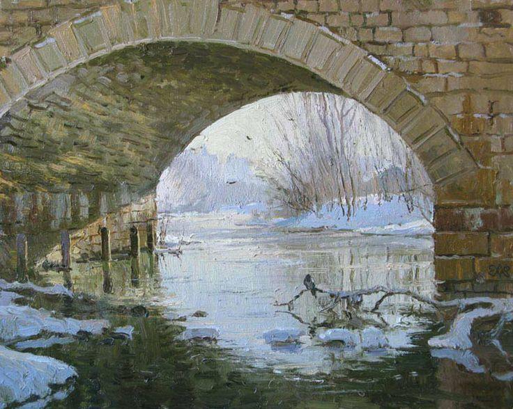 Efremov Alexey. Under Tsar's bridge