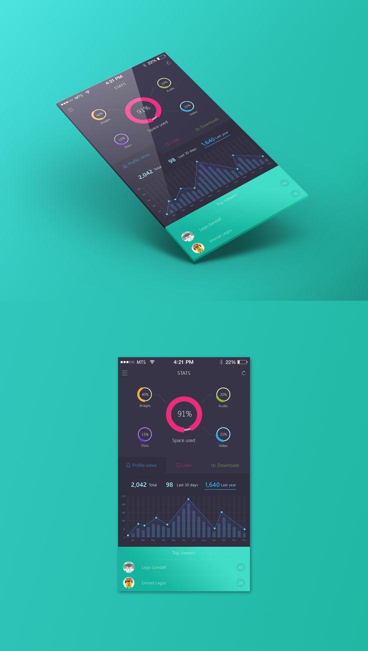 Bigger via #flat #ui #design