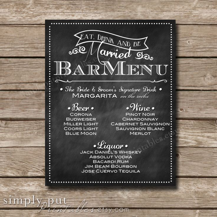 135 best images about Wedding Chalkboard on Pinterest | Wedding ...