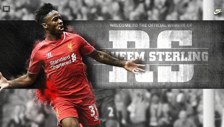 Raheem Sterling's official website | http://raheemsterling.com | #LFC #liverpool #raheemsterling #goldenboy #football #webdesign #sports #sportwebdesign