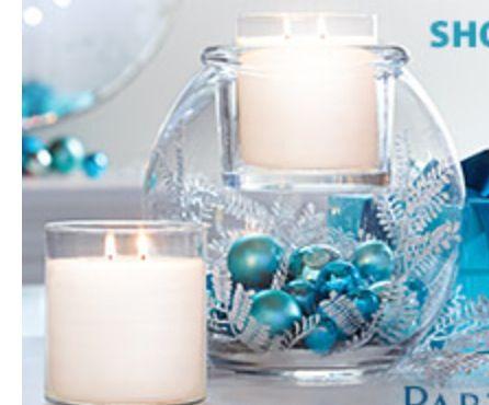 Blue Christmas idea