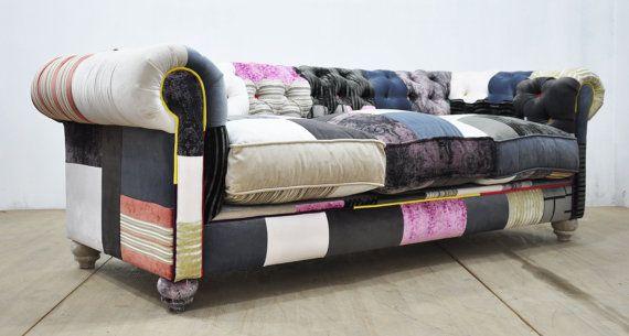 les 25 meilleures id es de la cat gorie sofa en patchwork sur pinterest chaise en patchwork. Black Bedroom Furniture Sets. Home Design Ideas