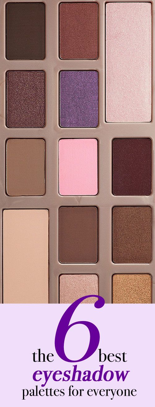 There's nothing worse than a palette that's full of shadows you'll never use. These are the best eyeshadow palettes that work for just about everyone.