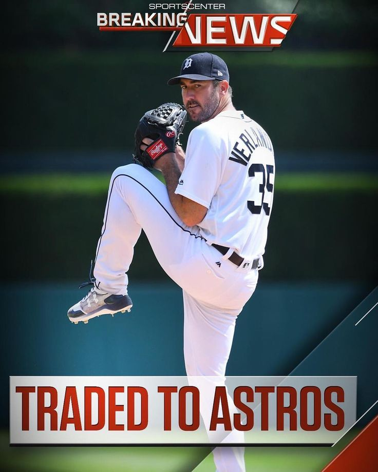 Wow! The road to the World Series is really going be tough for anytime. Congrats Astros. They built their team the right way. Now they are adding a megastar.