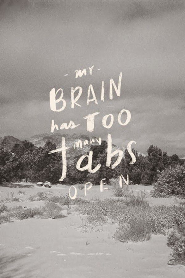 love print studio blog: My brain has too many tabs open...