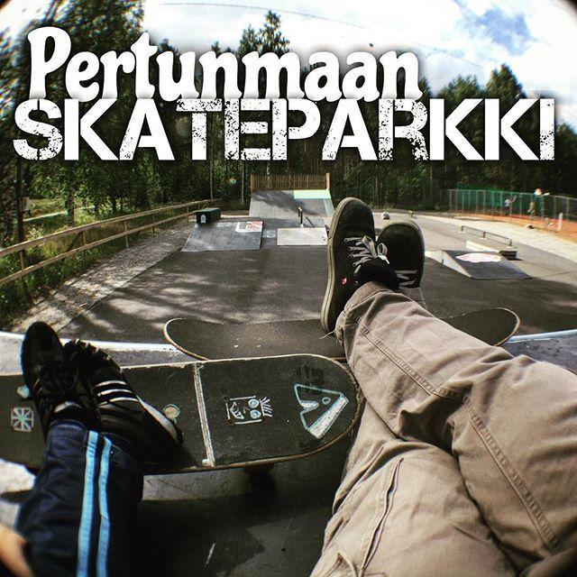 #pertunmaa #skate #skatepark #rullalauta #skateboard #kuortti #fb