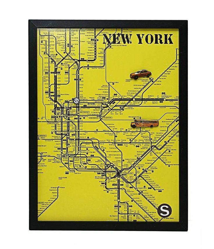 Pizarra magnetica NYC - La Buhardilla Decoración