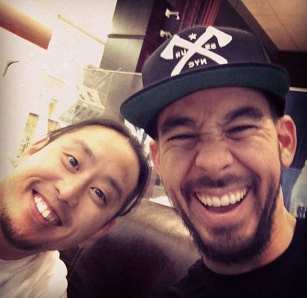 Linkin park - Joe Hahn and Mike Shinoda