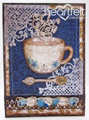 Heartfelt Creations   Enjoy Coffee With Borders