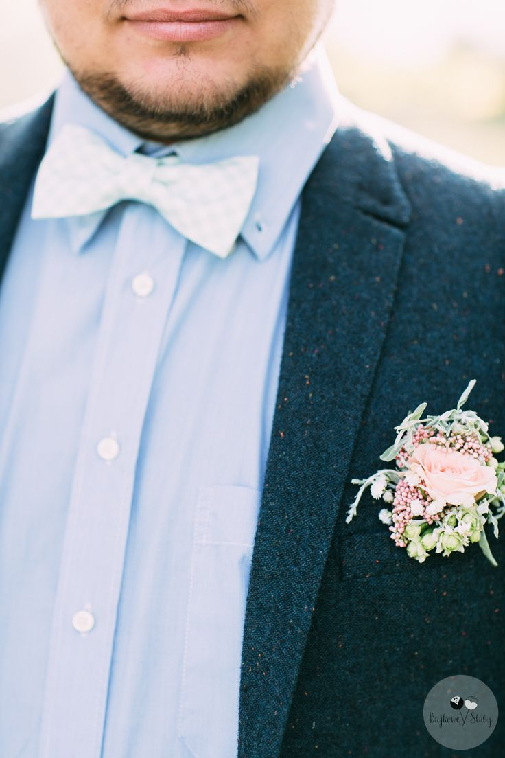 INNA Studio_ buttonhole / butonierka / fot. Bajkowe Śluby