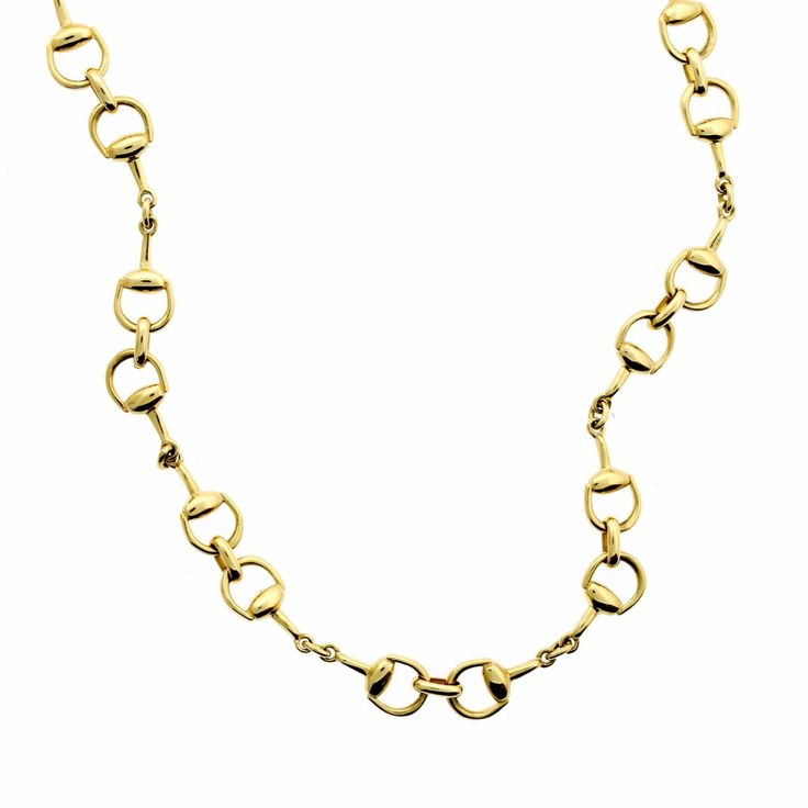 Gucci Horsebit Gold Necklace | Opulent Jewelers | OpulentJewelers.com