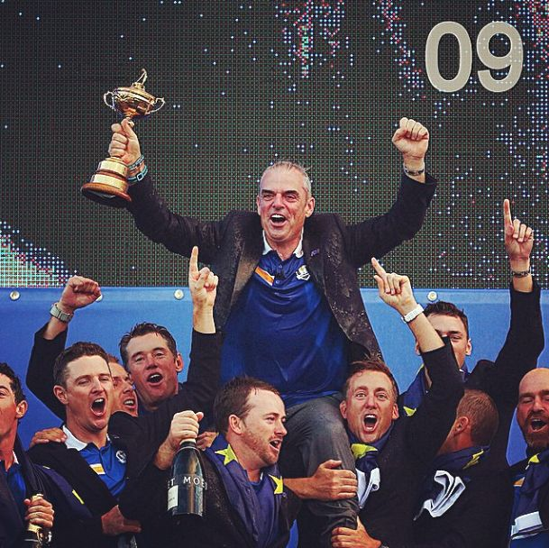 Number 9 on GiveMeSport's 2014 Moments is Team Europe's Ryder Cup victory over USA at Gleneagles. Europe have won 6 of the last 7 Ryder Cup's. #Golf #RyderCup #TeamEurope #GMS2014Moments