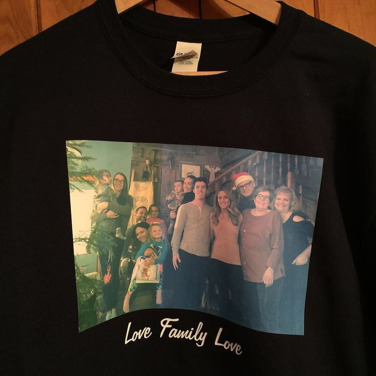 My first attempt at full colour t-shirts #love family #LoveFamily #FamilyLove #Christmas2017 #FamilyPicture #customtshirt  #MadeByGramps at #chubtown